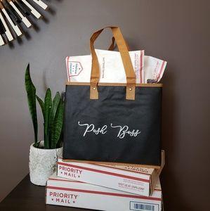 Handbags - Posh Boss Handpainted Shipping Tote